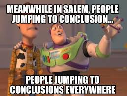 Internet Meme Creator - meme creator meanwhile in salem people jumping to conclusion