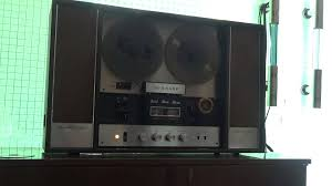 sharp home theater system reel to reel sharp rd 707 youtube