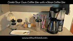 How To Design Your Own Home Bar Create Your Own Coffee Bar With The Ninja Coffee Bar Life With Heidi