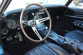 1968 corvette interior 1968 chevrolet corvette 427 390 t top 44396