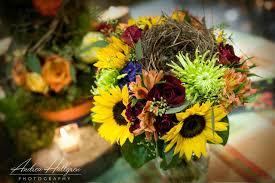 Sunflower Bouquets Enchanted Florist Bridal Show Sunflower Bouquet