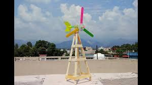 science fair project mini wind turbine popsicle sticks crafts