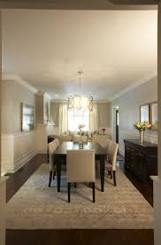 Dining Rooms With Wainscoting Gray Dining Room With Wainscoting Design Ideas