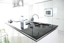 White And Black Kitchen Designs White Modern Kitchens Black Contemporary Dining Table Stunning