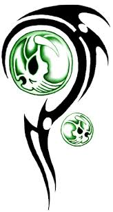 tribal skull tattoos png transparent images png all