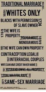 Traditional Marriage Meme - traditional marriage 2whites only blacks with permissions the wife