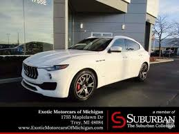 maserati toronto 2018 maserati levante in troy mi united states for sale on