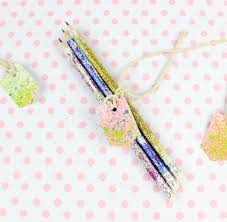 thanksgiving pencils colored glitter pencils fun family crafts