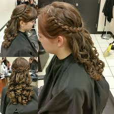 braids in front hair in back 37 best updos by nicole windsor images on pinterest hair buns