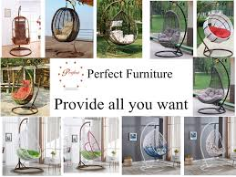 new design rattan hanging indoor swing bubble chair for kids nurani