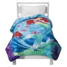 Little Mermaid Comforter Disney Little Mermaid Bubbles Pearls Twin Comforter Sheets 4pc