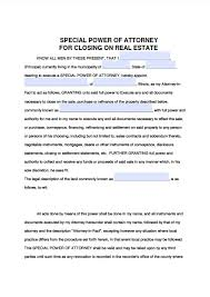 illinois real estate only power of attorney form power of