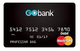 prepaid debit card no fees online banking checking account direct deposit gobank