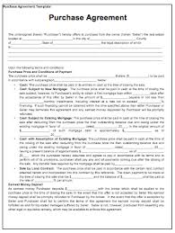purchase contract template tips u0026 guidelines