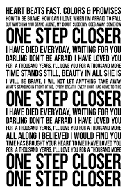 Wedding Quotes Lyrics What I U0027ll Be Walking Down The Isle To A Thousand Years