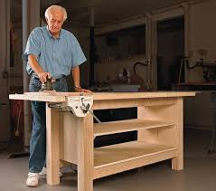 Woodworking Plans For Free Workbench by The Best Workbenches Finewoodworking