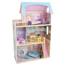 kidkraft traditional elegant dollhouse target doll houses for