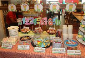 Minions Candy Buffet by Cyler U0027s Charlie And The Numbers Themed Birthday Party Candy