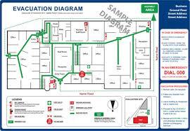 Evacuation Floor Plan Template Emergency Evacuation Diagrams Adelaide Beckmann U0026 Associates