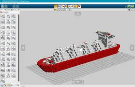lego lng container ship the bobby brix channel official website