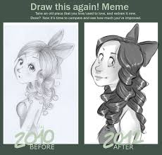 Draw It Again Meme - draw this again meme by inimeitiel chan on deviantart