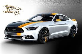 mustang design eight modified 2016 ford mustangs heading to sema motor trend