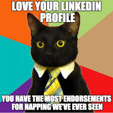 Organic Meme - best practices how to post organic content effectively on linkedin