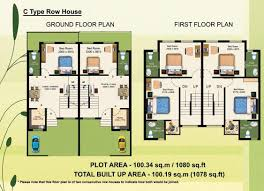 row house floor plans home building plans 50401