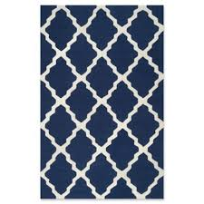 Cobalt Blue Area Rug Buy Navy Blue Area Rugs From Bed Bath U0026 Beyond