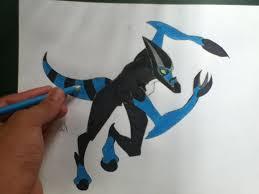 draw ben 10 aliens draw xlr8