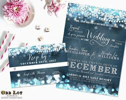 wedding invitations quincy il view winter wedding invites by oddlotpaperie on etsy