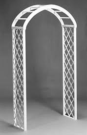 Trellis Rental Wedding Rent A White Wood Trellis Arch