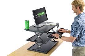 Adjustable Height Workstation Desk by Changedesk Affordable Standing Desk Cheap Height Adjustable Desk