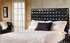queen leather headboard bedroom with leather headboard gallery