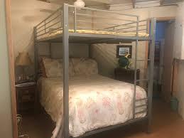 Zurich 4 Piece Bedroom Set Dhp Zurich Full Over Full Bunk Bed Hayneedle