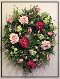 summer wreath summer wreaths front door swags decorative silk floral summer