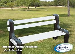 Park Benches Durable U0026 Affordable Vinyl Park Benches Superior Plastic Products