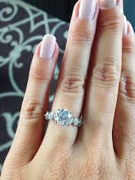 real engagement rings wedding rings 7 real with the prettiest engagement