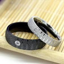 cincin cople cincin black silver glitter cincin titanium