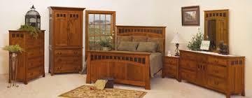 33 bridgeport mission bedroom set in oak solid wood amish