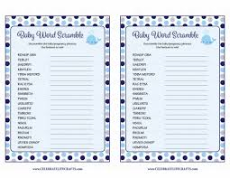 word scramble baby shower game whale baby shower theme for baby