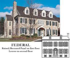 federal style house exterior shutters for federal house styles timberlane style
