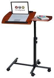 Adjustable Computer Desk Movable Computer Desk Black Adjustable Height Steel Mobile