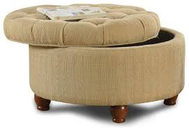 Large Storage Ottoman Furniture Lovely Round Ottoman Blanket Stitch Image Of New In
