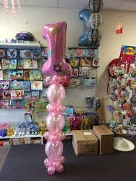 1st birthday balloon delivery name with columns balloonart au 1st birthday decorations