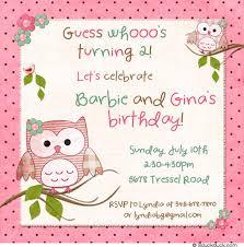 birthday invitation shabby chic little girls 2nd party