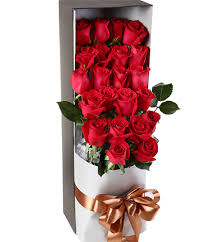 in a box delivery flowers in box delivery china send flowes arrange in a box to your s