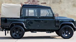 kahn land rover kahn design shows off their modified land rover defender double