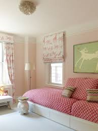 Kids Roman Shades - kids room with built in bed transitional u0027s room anik