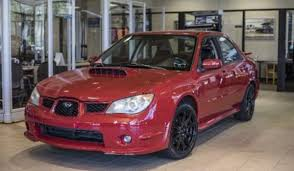 pink subaru wrx now u0027s your chance to buy a rwd converted wrx used in baby driver